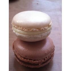 macaron chocolat blanc & au lait